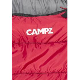 CAMPZ Desert Pro 300 Schlafsack rot/schwarz